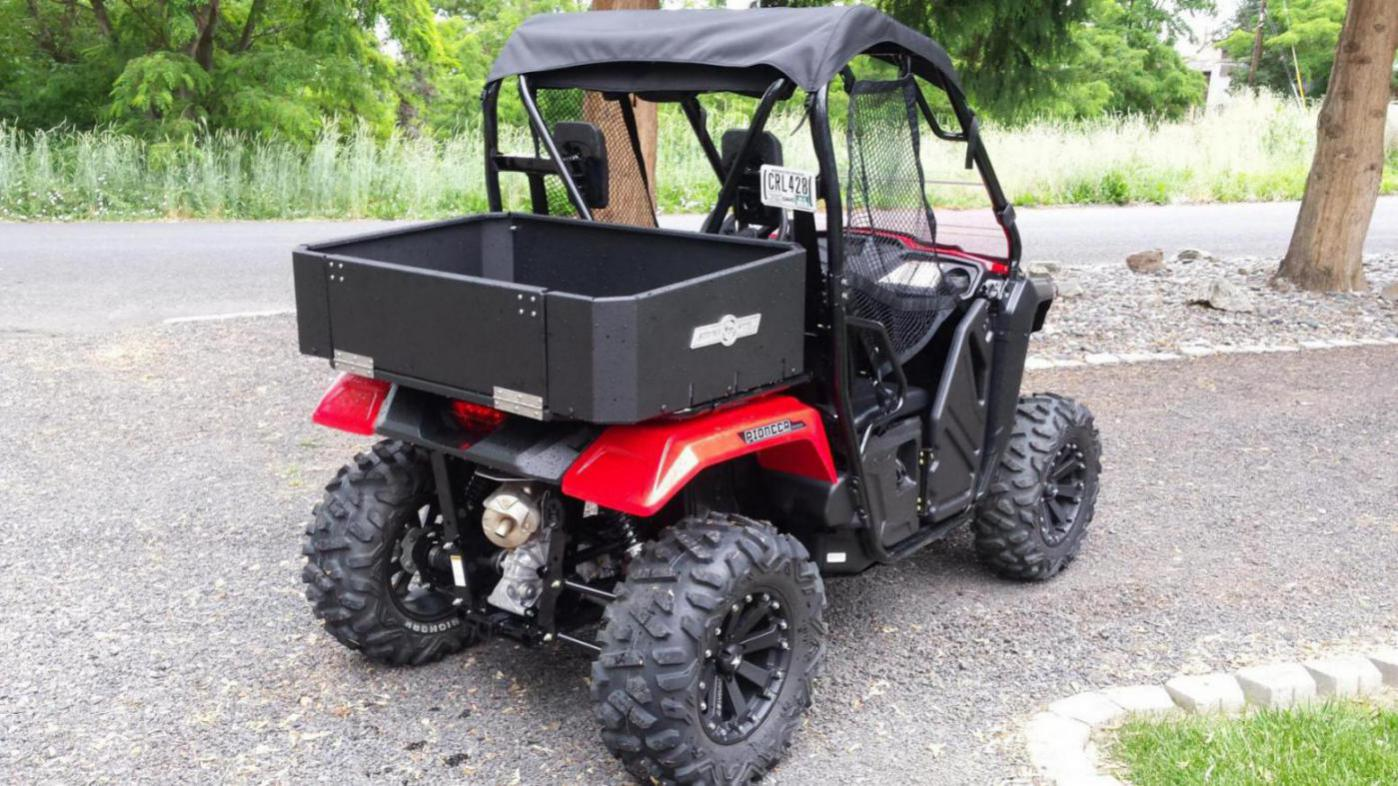 Click image for larger version Name:  1432672541473-971980189_1432672569212.jpg Views: 5372 Size. Strong Made  cargo bed - Honda Pioneer ...